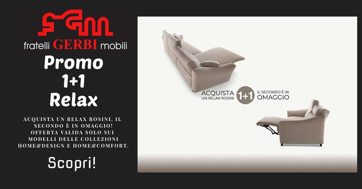 Read more about the article Promo Divani 1+1 Relax